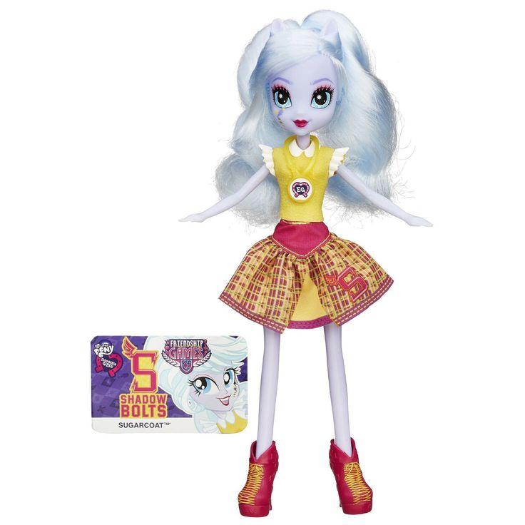 MLP Equestria Girls Friendship Games School Spirit Sugarcoat Doll