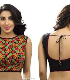 Buy multicolor Georgette readymade-blouse readymade-blouse online