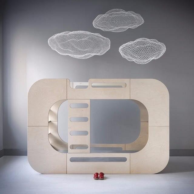 Amazing bunk bed by @iokidsdesign  Kids Furniture  Pinterest  디스플레이