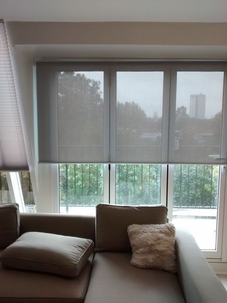 Sunscreen roller fitted to penthouse apartment in Clapham ...