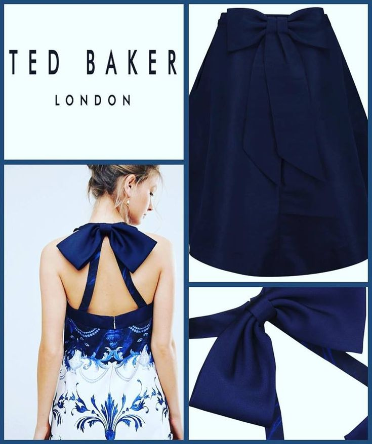 Ted Baker Outlet It's all about the bow ... Shop Online: www.the-outletstore.net