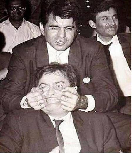 Rare Pic of Dillip Kumar with Raj Kapoor! #Bollywood
