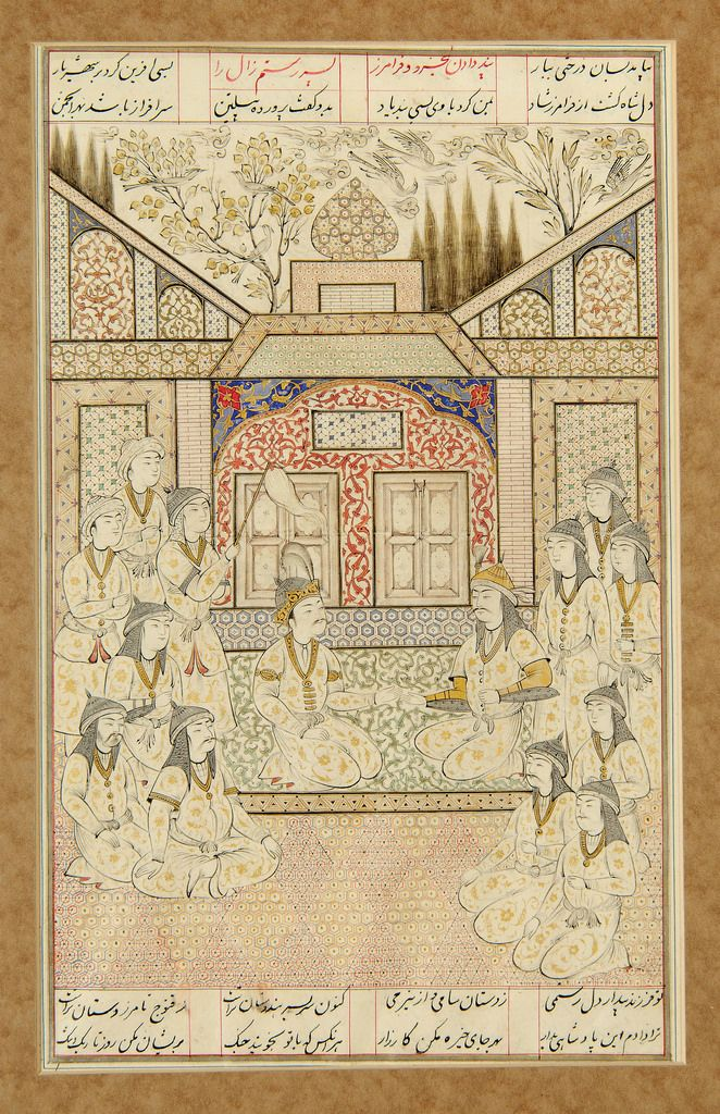 BOOK OF KINGS (SHAHNAMA) | by persian.painting