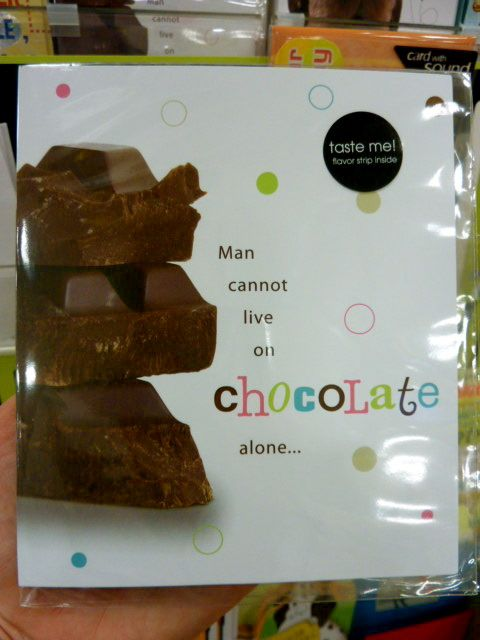 chocolate birthday card images