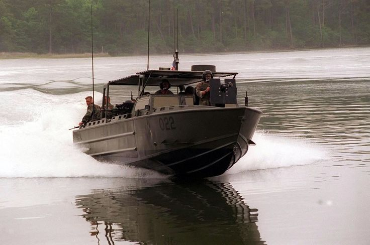 Swiftships' Riverine Assault Craft currently operated by ...