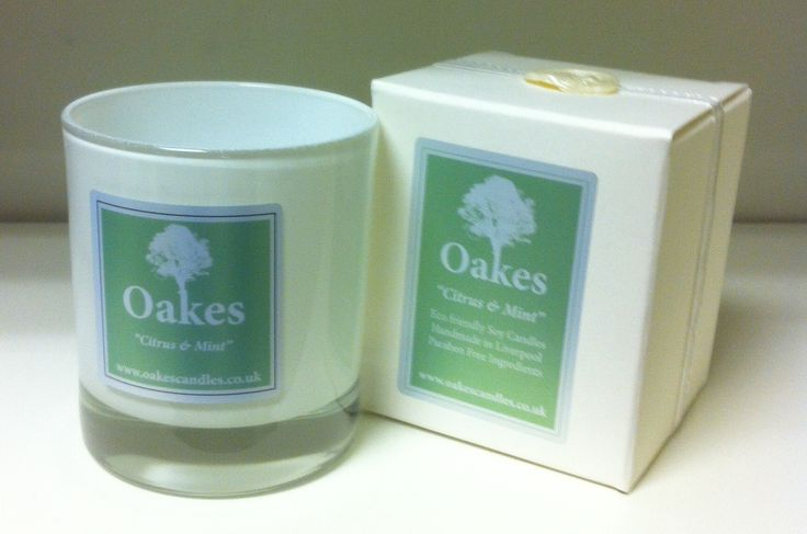 "Oakes Candle ""Citrus Mint"" 220g To shop follow the website link!"