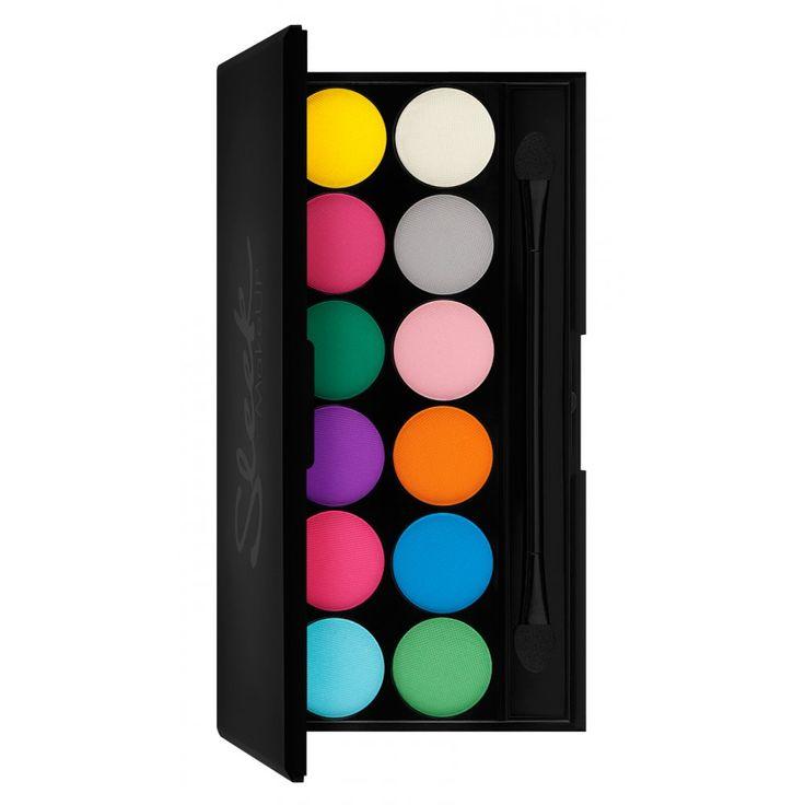 Paleta farduri Sleek Ultra Mattes Brights V1 doar pe http://www.makeup-shop.ro