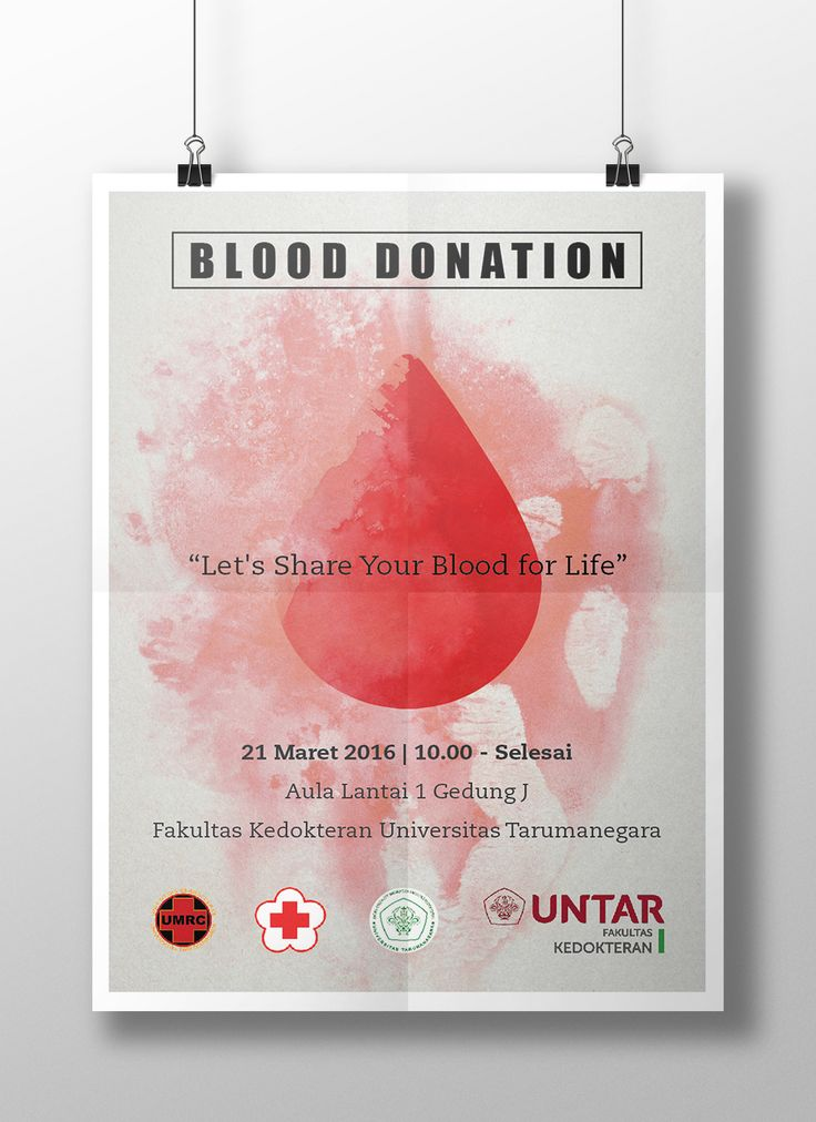 blood donation reasons to donate The remaining 20 percent are collected at red cross blood donation centers why donate blood you don't need a special reason to give blood you just need your own reason some of us give blood because we were asked by a friend.