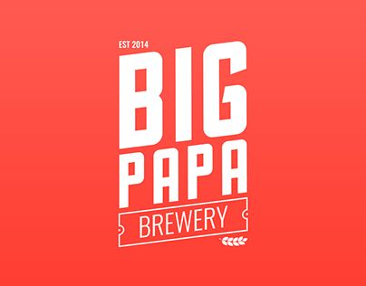"""Check out new work on my @Behance portfolio: """"Big Papa Brewery - Logo"""" http://be.net/gallery/37462089/Big-Papa-Brewery-Logo"""