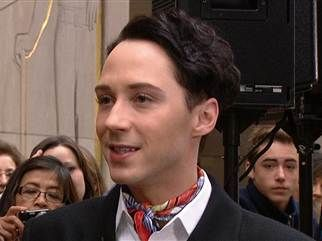 Johnny Weir retires, joins NBC Olympics as figure skating analyst (Photo: @TODAY)