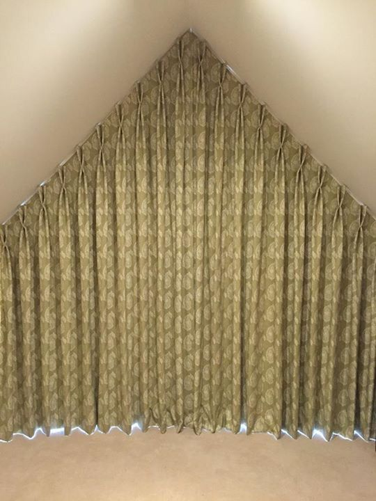 Apex Window Curtain Blackout And Interlined Handmade By Victoria Clark Interiors