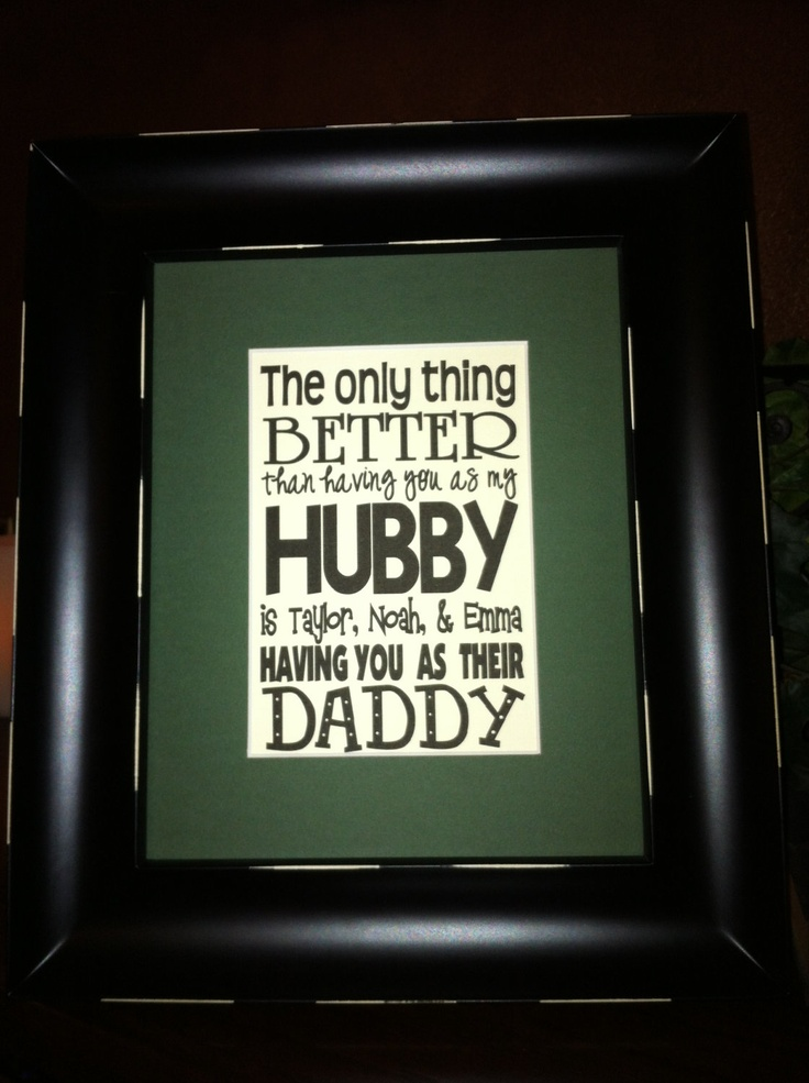 CUTE for Father's Day!