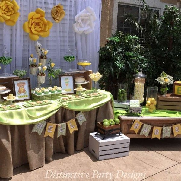 Baby booth shower photo ideas