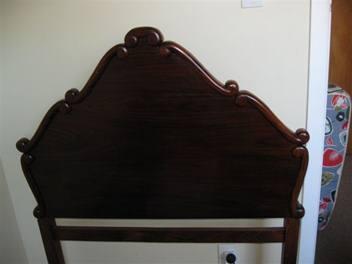 E's new bed frame