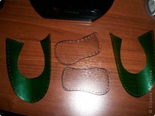Вот придумались такие туфельки для моей золушки. Спешу поделиться с Вами. фото 2