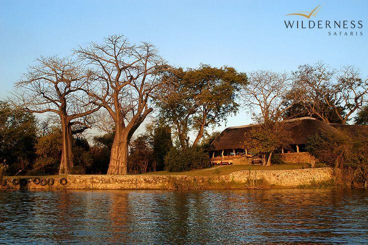 Mvuu Camp overlooks a broad stretch of the Shire River in #Malawi's Liwonde National Park #Africa #safari