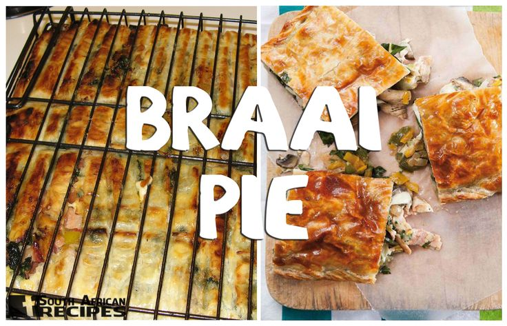 South African Recipes KWAAI BRAAI PIE (Coreen Pretorius Schreiber)