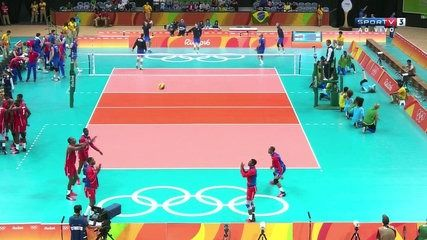 Voleibol Masculino Rio 2016 - Russia vs Cuba SPORTV 07.08.2016 01/02   lodynt.com  لودي نت فيديو شير