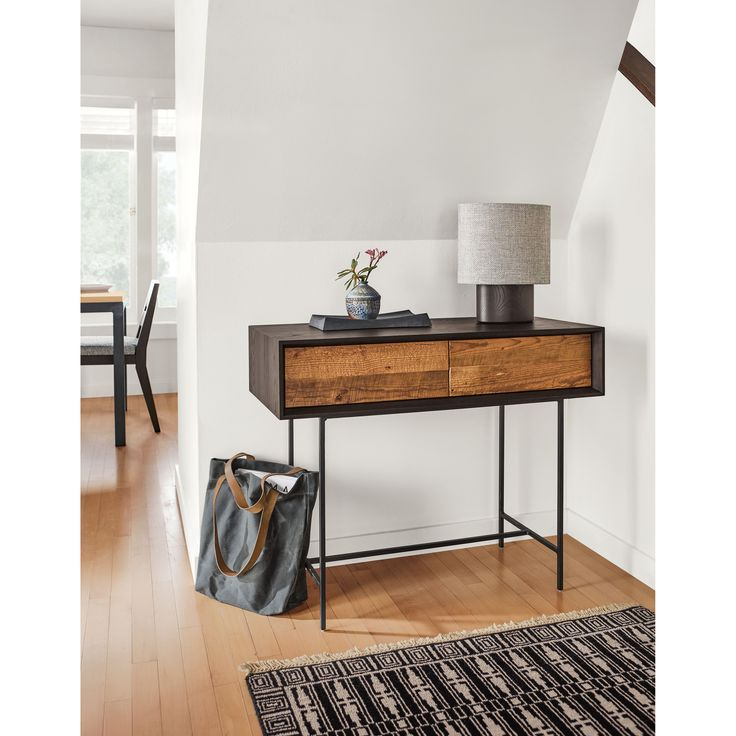Room & Board   McKean Console Tables in Reclaimed Wood