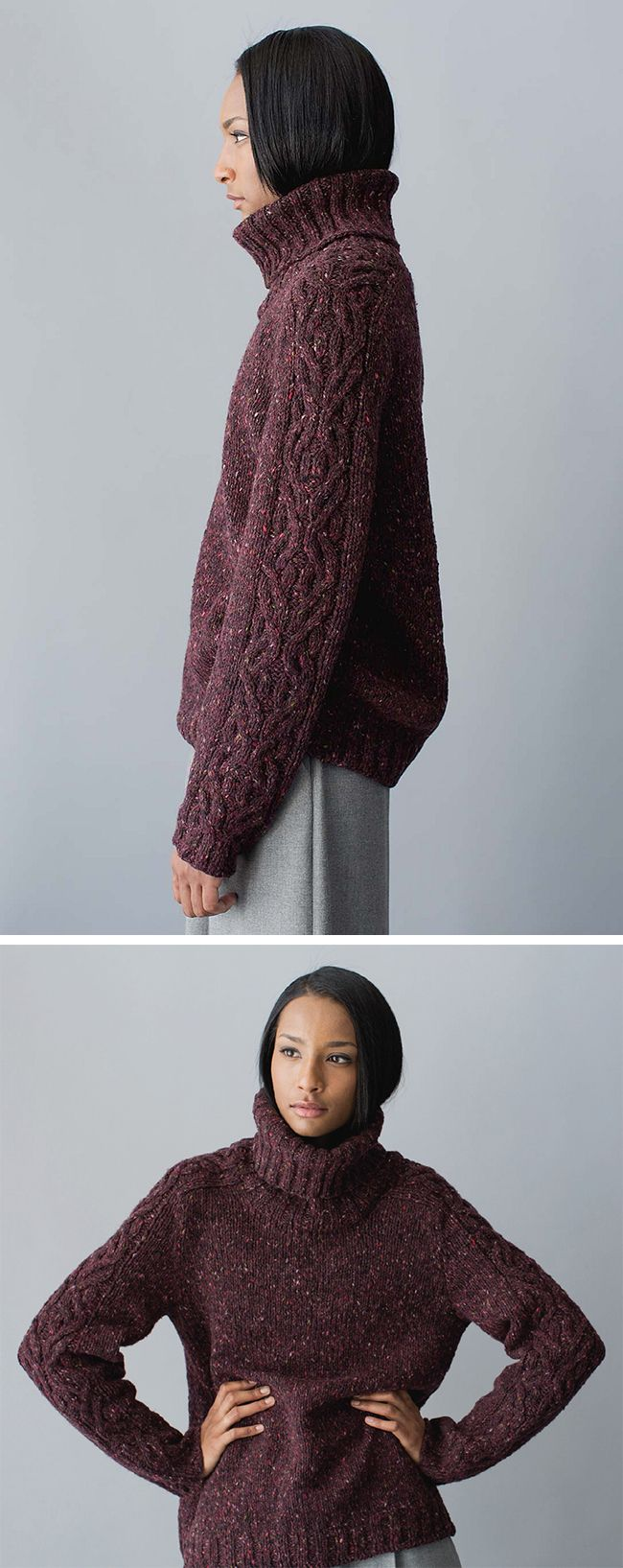 Michele Wang has been teasing the internet with the her latest collection lately, and yesterday it materialized as the newest edition of Interweave's Wool Studio. The whole thing is menswear-…