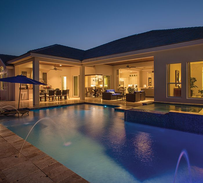 Arthur Rutenberg Homes Custom Home Design Living Area