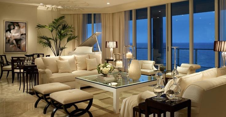 Condo Living  - living room