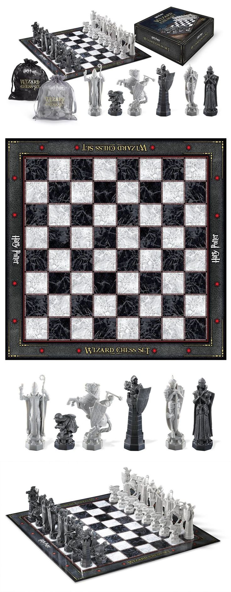 Contemporary Chess 40856: Harry Potter Wizard Chess Set (Nn7580) -> BUY IT NOW ONLY: $55.73 on eBay!