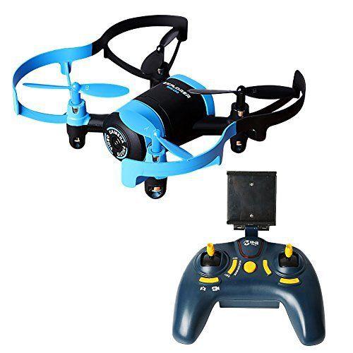 Kingtoys®JXD 512W Mini Wifi Drone Quadcopter Soucoupe Volante UFO avec 0.3MP Caméra Headless Mode: Spécifications: Nom de marque: JXD…