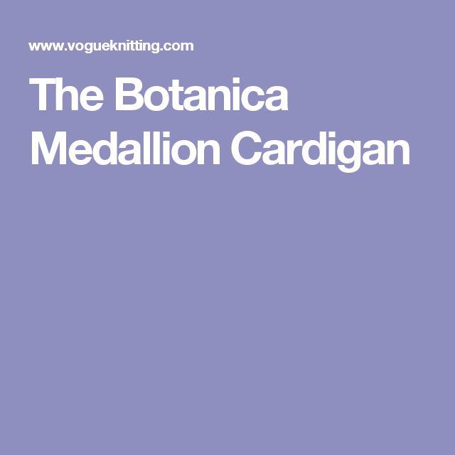 The Botanica Medallion Cardigan