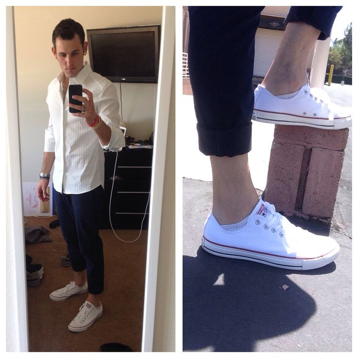 #WIWT white @7diamonds newkid buttondown #tailored GandG tailors in brea CA navy slim chinos from @hm and converse chuck taylors from nordstrom rack in brea. citizen timepiece