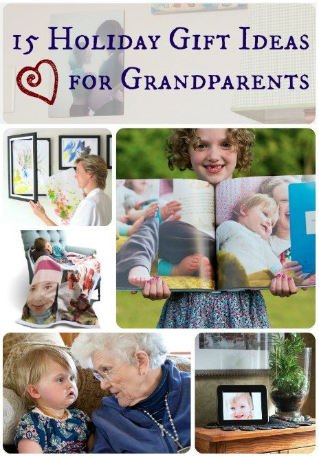 15 Holiday Gift Ideas for Grandparents