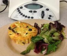 Feta, sweet potato & eggplant frittata | Official Thermomix Recipe Community