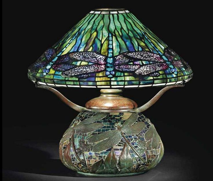 Tiffany lamp - I have a friend who collects these. I have never even envisioned having one of these, but I do love stained glass, just not as a lamp.