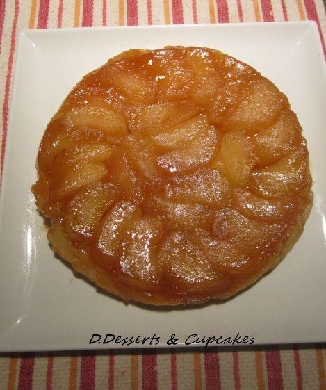 Apple Tarte Tatin.... un délice pommes caramel ou pommes érable.....