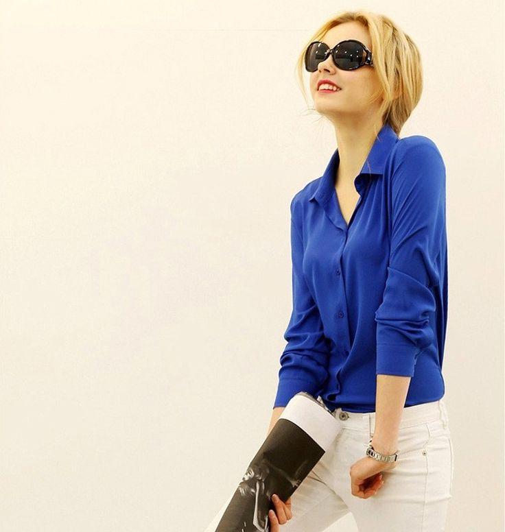 Dámská modrá košile blůza triko tričko s límečkem – SLEVA 70% a POŠTOVNÉ ZDARMA Na tento produkt se vztahuje nejen zajímavá sleva, ale také poštovné zdarma! Využij této výhodné nabídky a ušetři na poštovném, stejně …