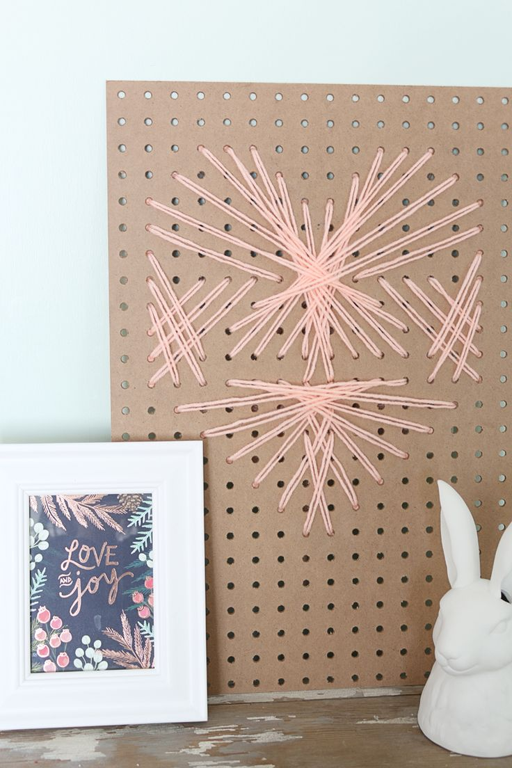 how to make pegboard hooks stay