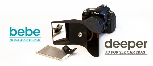 3ders.org - Kúla Bebe mirror based lens adaptor turns your smartphone into a true 3D camera | 3D Printer News & 3D Printing News