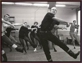 "Bob Fosse  ""His dances were sexual, physically demanding of even the most highly trained dancers."""