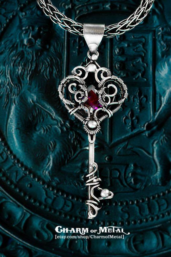 72 best wire keys images on Pinterest   Key pendant, Jewellery ...