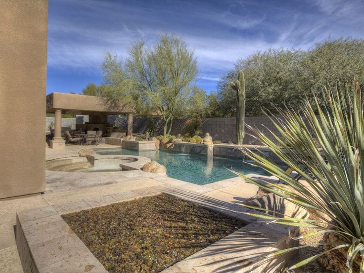 Private Troon North Home Offers Golf, Heated Spa & Relaxation.  Nicely furnished 3350 sq ft home with three Ensuite Bedrooms in gated community with Private...