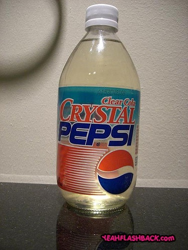 Crystal Pepsi....the event of the year..