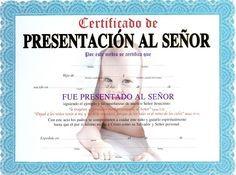 Certificados de presentacion de niños gratis - Imagui