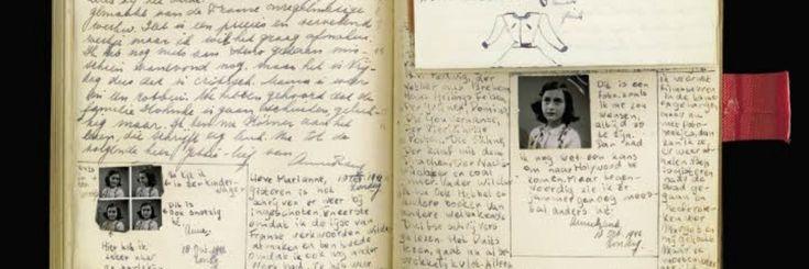 'Misschien wel een van mijn fijnste cadeaus…' schrijft Anne over het roodgeruite dagboek dat zij voor haar dertiende verjaardag krijgt. Een verrassing is het cadeau niet. Anne mocht h