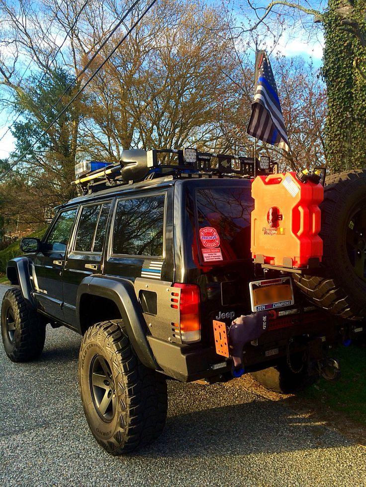 98 Xj 6 5 Inch Rough Country Long Arm Lift Riverraider Snorkel Warn Winc Jeep Xj Jeep Suv Jeep Cherokee