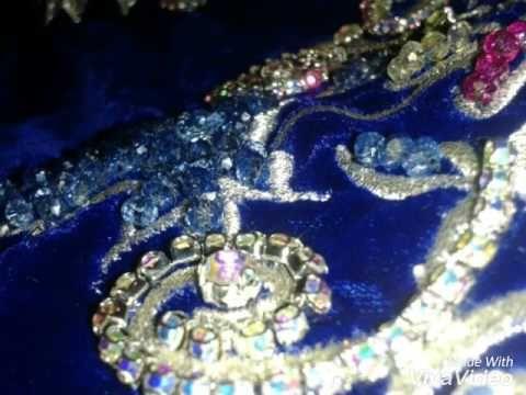 تعليم الخياطة وانواعها مع salma salma: موديل جديد بطرز المكينة وتنبات