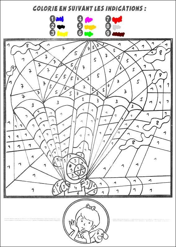 jeu du coloriage magique à imprimer   Coloriage magique, Coloriage magique à imprimer et Coloriage