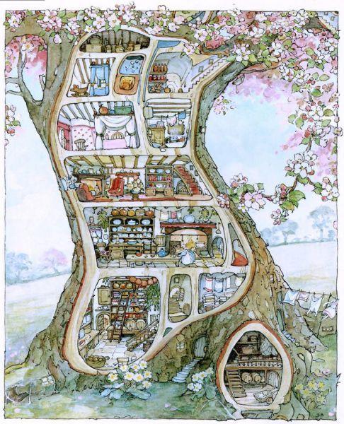 Depois de falar sobre a Beatrix Pottere a Cicely Mary Barker, chegou a hora de falar sobre a Jill Barklem, que segue essa mesma linha de ilustrações e histórias bonitinhas que eu tanto amo! Já faz…