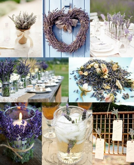 Lavender Wedding Ideas from The Wedding Community