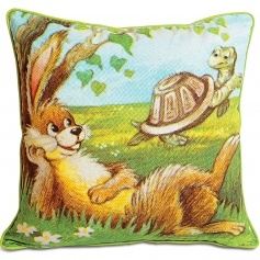 Rabbit Cushion Covers for kids by Swayam