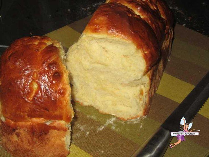 Brioche extra moelleuse. Recette de cuisine ou sujet sur Yumelise blog culinaire. Pour ceux qui aiment une brioche filante, moelleuse et légère...